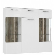 Витрина BBLV431B-C615 Babila BIM Furniture-Forte