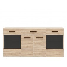 Витрина CMBV27-Q29 Combino BIM Furniture-Forte